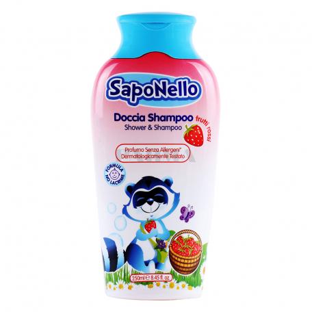 Շամպուն-գել «SapoNello Frutti Rossi» մանկական 250մլ