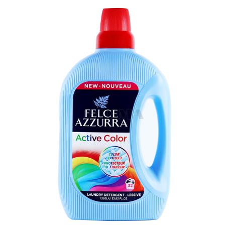 Հեղուկ լվացքի «Felce Azzurra Active Color» 1595մլ
