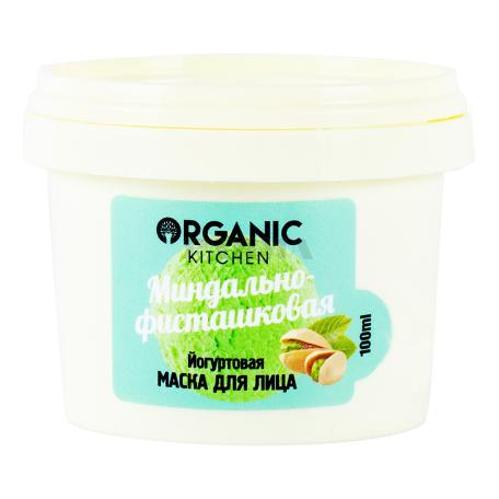 Դիմակ դեմքի «Organic Kitchen» նուշ, պիստակ 100մլ