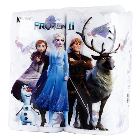 Թղթե սրբիչ «Kartika Frozen» 2 հատ