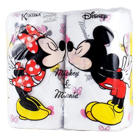 Թղթե սրբիչ «Kartika Mickey & Minnie» 2 հատ
