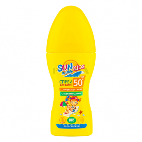 Սփրեյ «Биокон Sun Marina Bio SPF 50+» արևապաշտպան, մանկական 150մլ