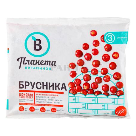 Հապալաս կարմիր «Планета Витаминов» սառեցված 300գ