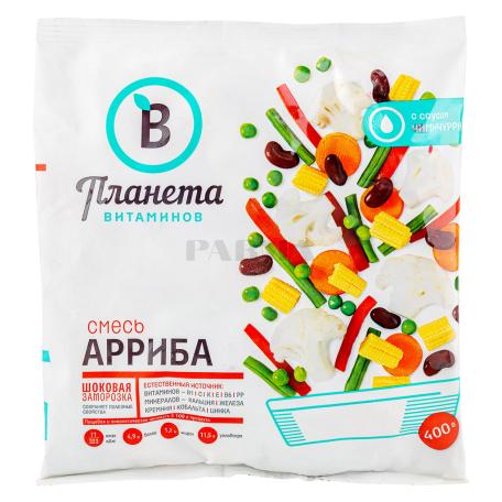Բանջարեղենային խառնուրդ «Планета Витаминов» արրիբա, սառեցված 400գ