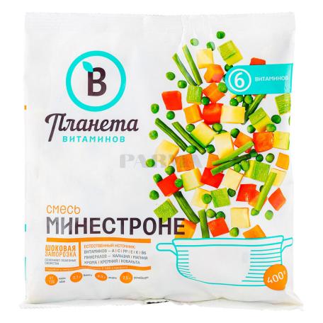 Բանջարեղենային խառնուրդ «Планета Витаминов» մինեստրոնե, սառեցված 400գ