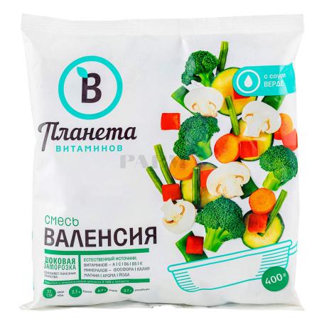 Բանջարեղենային խառնուրդ «Планета Витаминов» վալենսիա, սառեցված 400գ