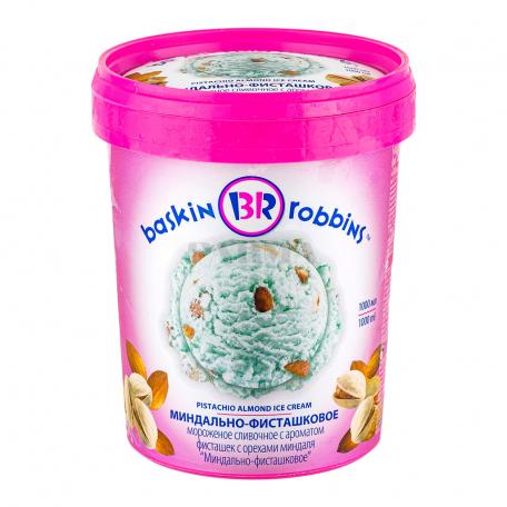 Պաղպաղակ «Baskin Robbins» նուշ, պիստակ 1լ