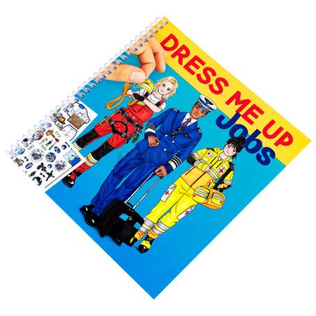 Գունազարդման գիրք «Top Model Jobs»