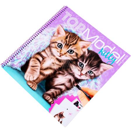 Գունազարդման գիրք «Top Model Kitty»