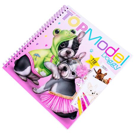 Գունազարդման գիրք «Top Model Doggy»