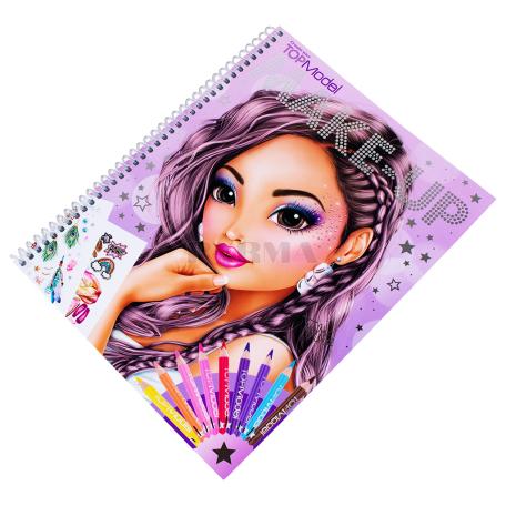 Գունազարդման գիրք «Top Model Make Up»