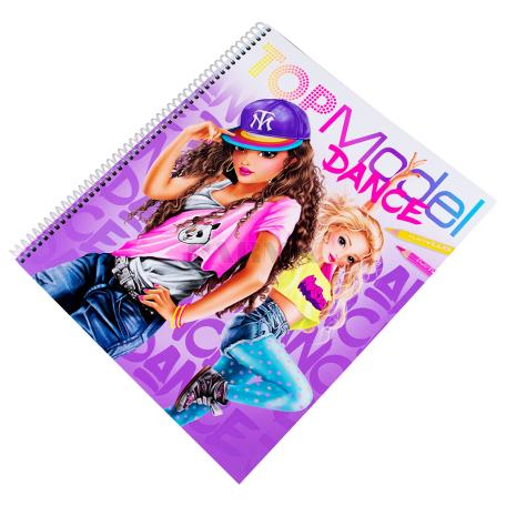 Գունազարդման գիրք «Top Model Dance»