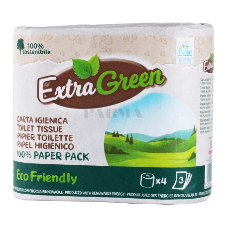 Զուգարանի թուղթ «ExtraGreen Eco Friendly» 4 հատ