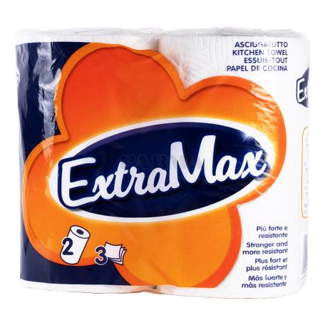 Թղթե սրբիչ «ExtraMax» 2 հատ