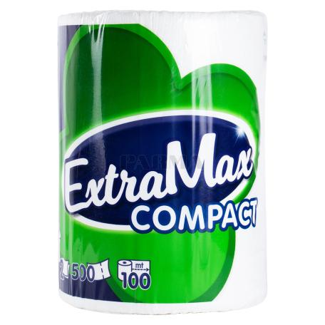 Թղթե սրբիչ «ExtraMax Compact» 1 հատ