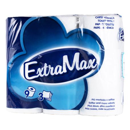 Զուգարանի թուղթ «ExtraMax» 9 հատ