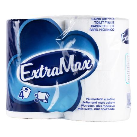 Զուգարանի թուղթ «ExtraMax» 4 հատ