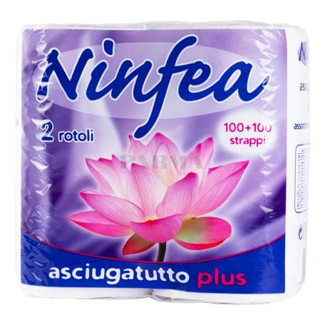 Թղթե սրբիչ «Ninfea» 2 հատ