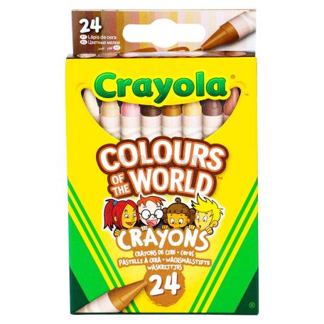 Յուղամատիտ «Crayola» 24հատ
