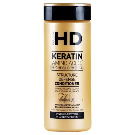 Կոնդիցիոներ մազի «HD Keratin Structure Defense» 330մլ