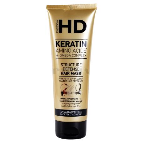 Դիմակ մազի «HD Keratin Structure Defense» 250մլ