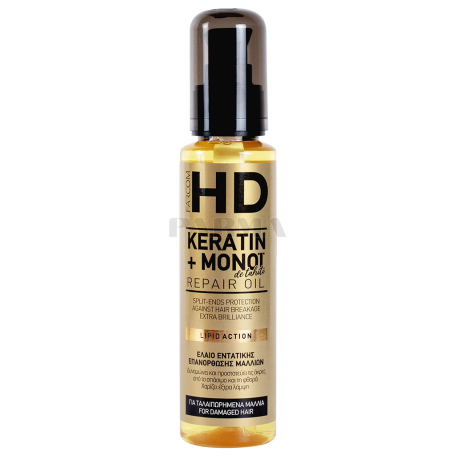 Յուղ մազերի «HD Keratin+ Monot» 100մլ