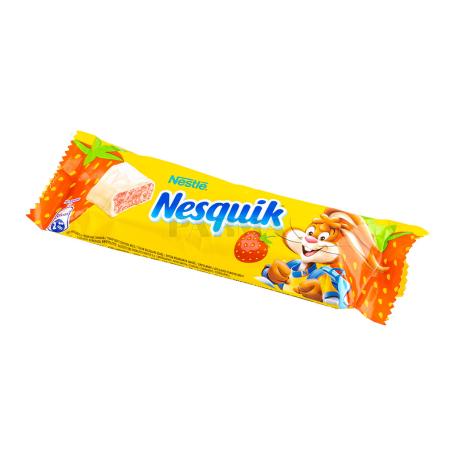 Շոկոլադե բատոն «Nesquik» ելակով 26գ