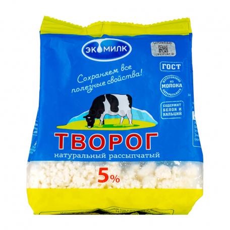 Կաթնաշոռ «Экомилк» 5% 180գ
