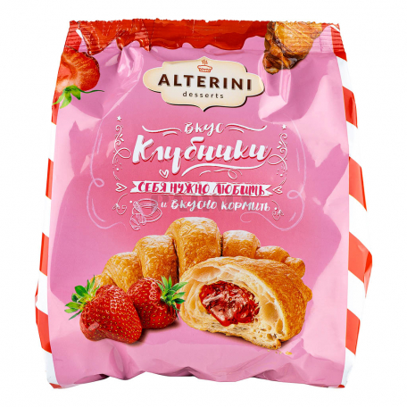 Կրուասան «Alterini Desserts» ելակ 200գ
