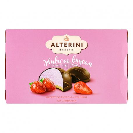 Սուֆլե «Alterini Desserts» ելակ, սերուցք 120գ