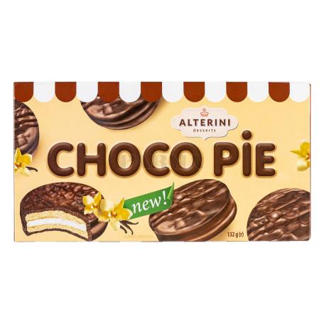 Թխվածքաբլիթ «Alterini Desserts Choco Pie» վանիլ 132գ