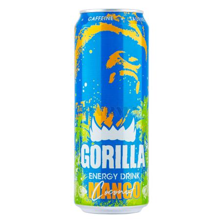 Էներգետիկ ըմպելիք «Gorilla» մանգո 450մլ