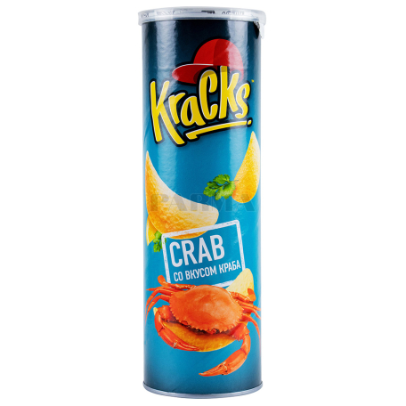 Չիպս «Kracks» ծովախեցգետին 160գ