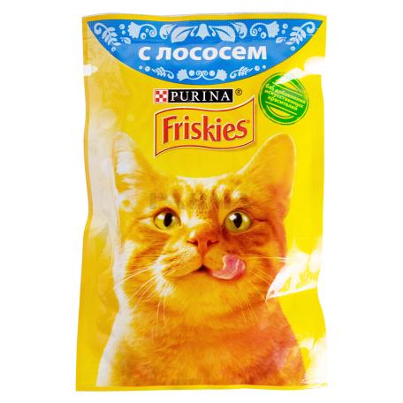 Կատվի կեր «Friskies» սաղմոնով 85գ