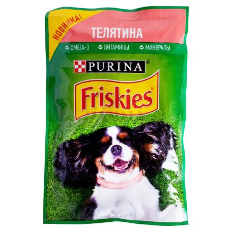 Շան կեր «Friskies» հորթի մսով 85գ