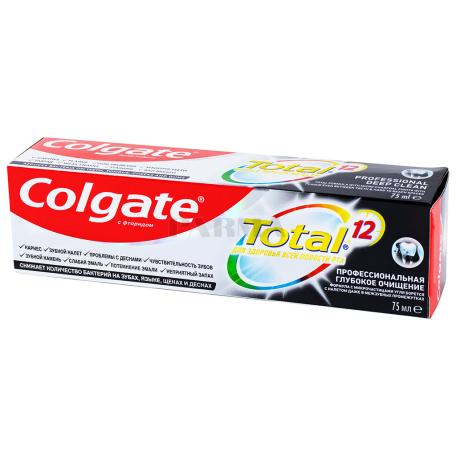 Ատամի մածուկ «Colgate Total Professional» ֆտորով 75մլ