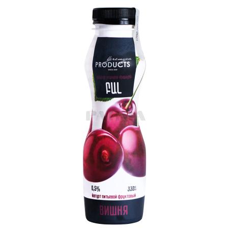 Յոգուրտ ըմպելի «Yeremyan Products» բալ 0․5% 330մլ