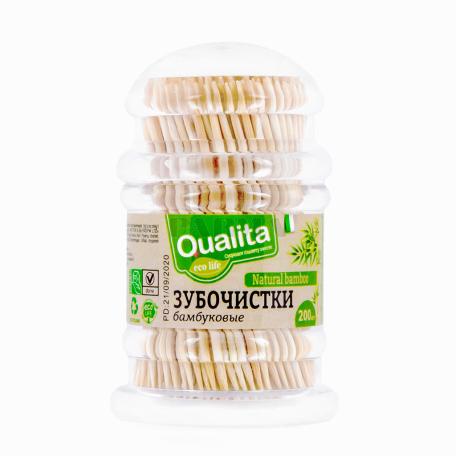 Ատամի փայտ «Qualita» 200 հատ