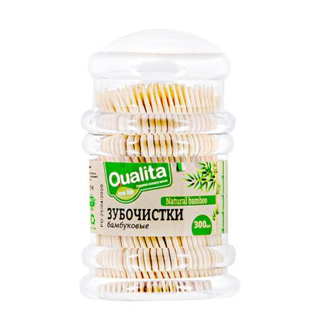 Ատամի փայտ «Qualita» 300 հատ