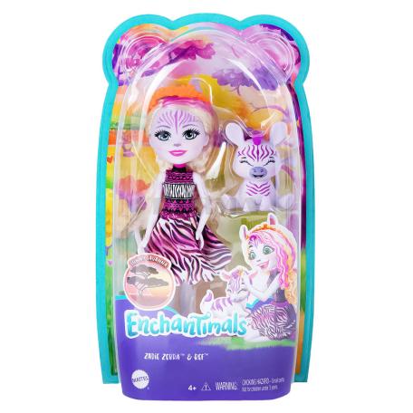 Խաղալիք «Enchantimals Zadie Zebra»