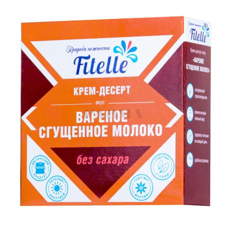 Կրեմ-աղանդեր «Fitelle» եփած խտացրած կաթ 100գ