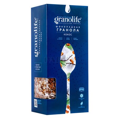 Գրանոլա «Granolife» շոկոլադ, կոկոս 400գ