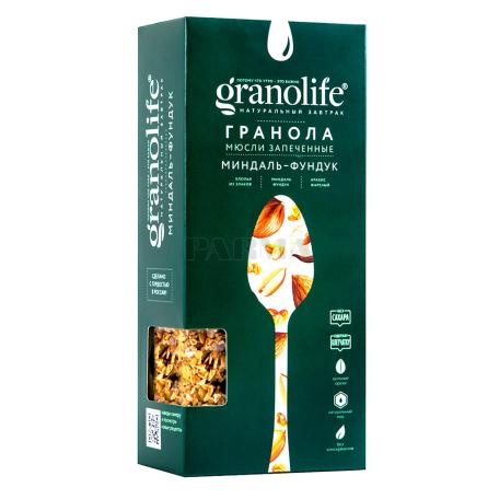 Գրանոլա «Granolife» նուշ, պնդուկ 200գ