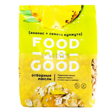 Մյուսլի «Food-2B-Good» արքայախնձոր, քունջութ 300գ