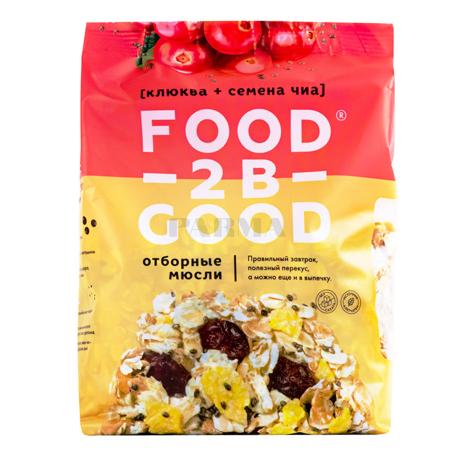 Մյուսլի «Food-2B-Good» լոռամիրգ, եղեսպակ 300գ