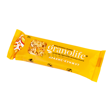 Բատոն-գրանոլա «Granolife» գետնանուշ, քունջութ 30գ