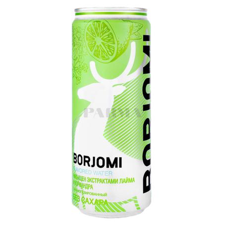 Минеральная вода `Borjomi` лайм, кориандр 330мл