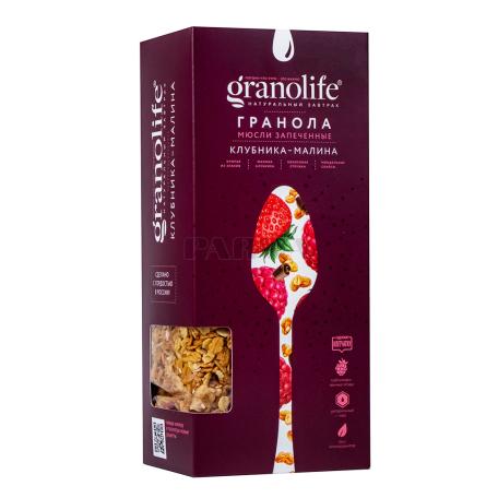 Գրանոլա «Granolife» ելակ, ազնվամորի 400գ