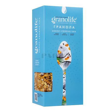 Գրանոլա «Granolife» կոկոս, եղեսպակ 200գ
