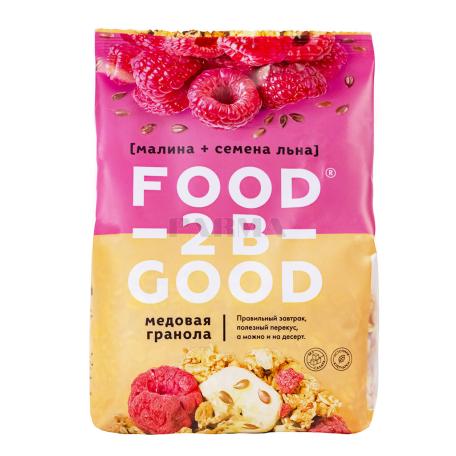 Գրանոլա «Food-2B-Good» ազնվամորի, կտավատի սերմեր 300գ